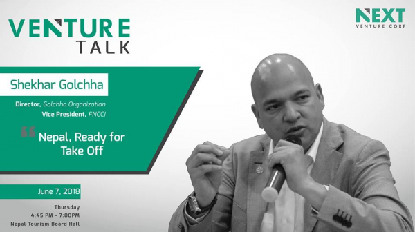 What to expect from Venture Talk with Shekhar Golchha
