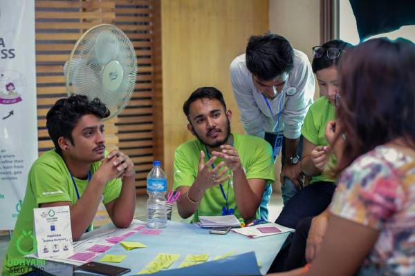 [Photo Story] Day 4 Udhyami Seed Camp - Tech Edition