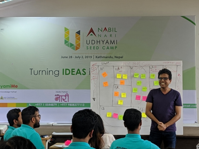 Udhyami Seed Camp sets off its fourth iteration - Partners with Nabil Bank