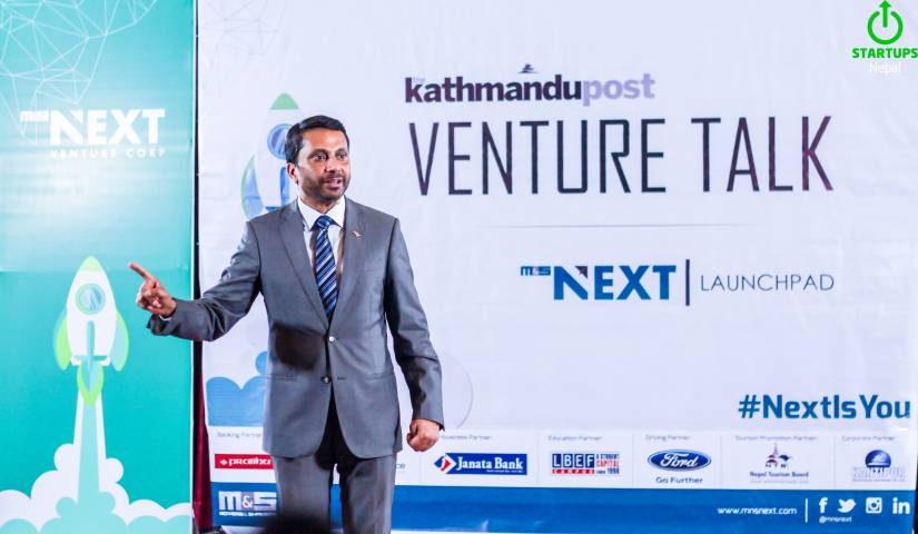 6 Things I Learnt from The Venture Talk with Ranjit Acharya