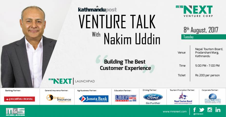 The Kathmandu Post Venture Talk with Nakim Uddin